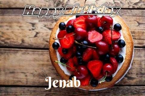 Happy Birthday Cake for Jenab