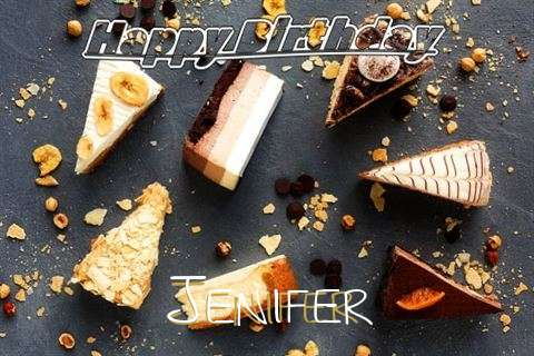 Happy Birthday to You Jenifer