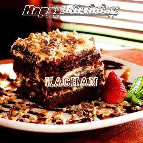 Happy Birthday Cake for Kachan