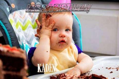 Happy Birthday Wishes for Kaden