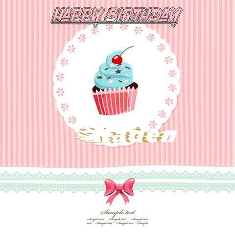 Happy Birthday to You Kaden