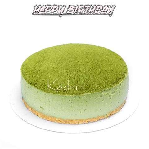 Happy Birthday Cake for Kadin