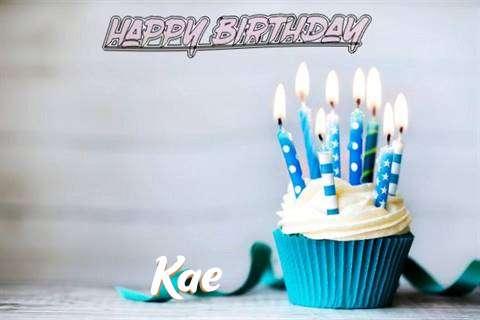 Happy Birthday Kae Cake Image