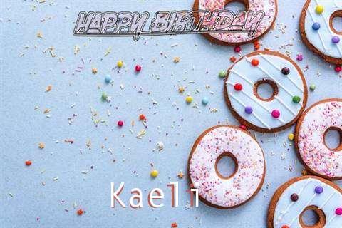 Happy Birthday Kaeli Cake Image