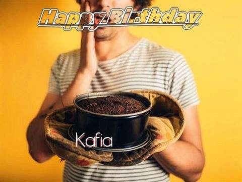 Happy Birthday Kafia Cake Image
