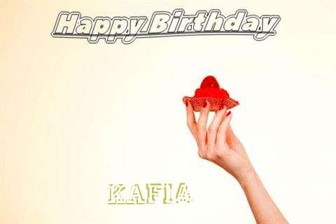 Happy Birthday to You Kafia
