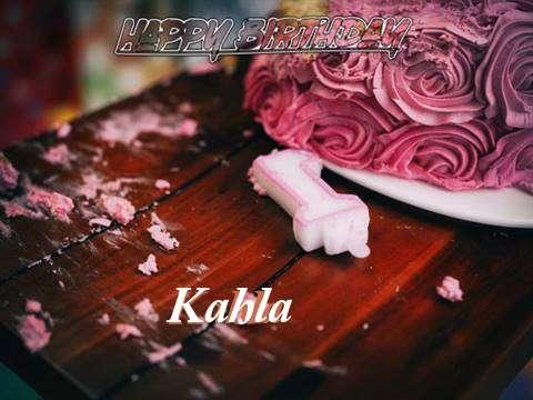 Kahla Birthday Celebration