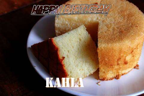Happy Birthday to You Kahla