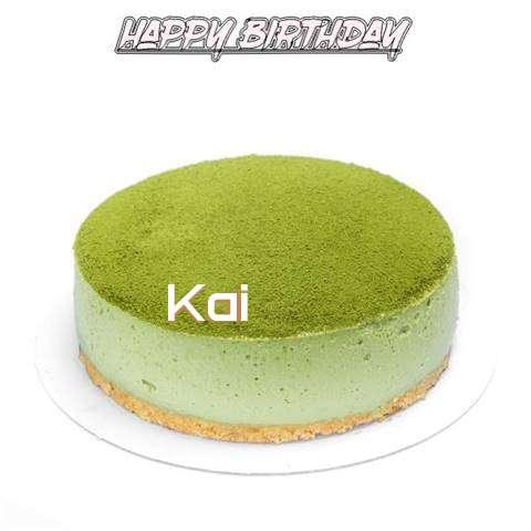 Happy Birthday Cake for Kai