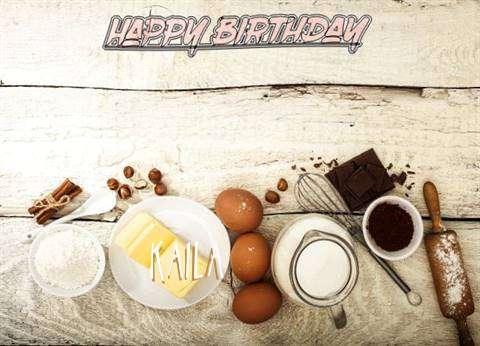 Happy Birthday Kaila Cake Image