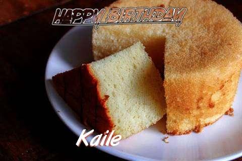 Happy Birthday to You Kaile