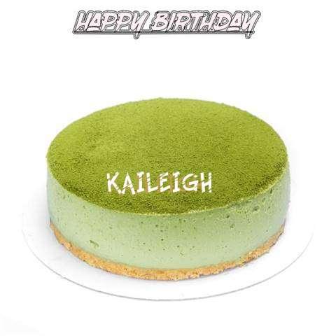 Happy Birthday Cake for Kaileigh
