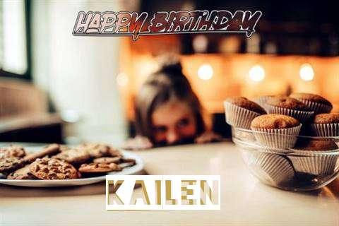 Happy Birthday Kailen Cake Image