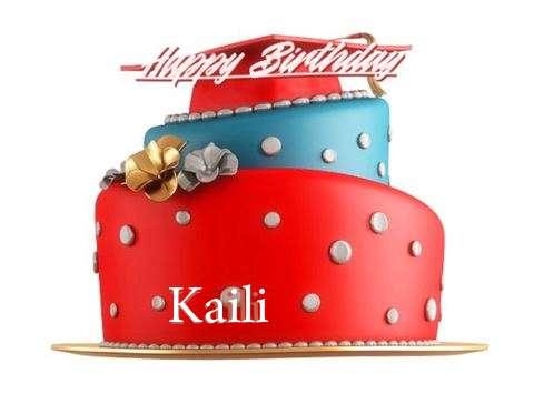 Happy Birthday to You Kaili
