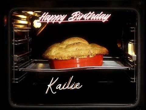 Happy Birthday Cake for Kailie