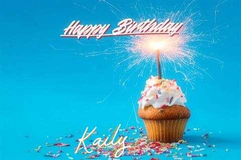 Happy Birthday Cake for Kaily