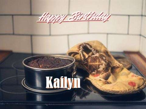 Happy Birthday Kailyn Cake Image