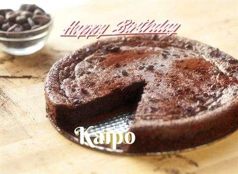 Happy Birthday Kaipo