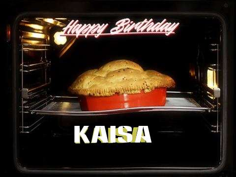 Happy Birthday Cake for Kaisa