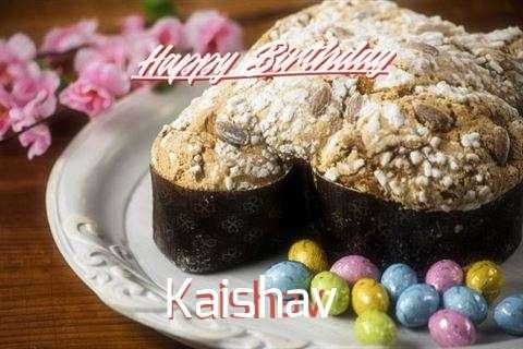 Happy Birthday Cake for Kaishav