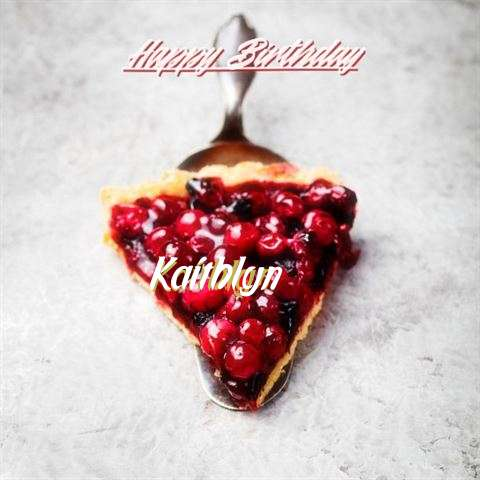 Happy Birthday to You Kaithlyn
