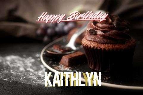 Happy Birthday Cake for Kaithlyn