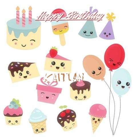 Happy Birthday Cake for Kaitlan