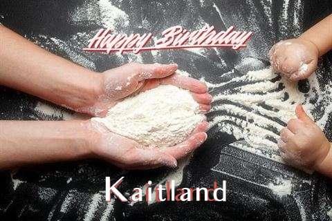 Happy Birthday Kaitland Cake Image