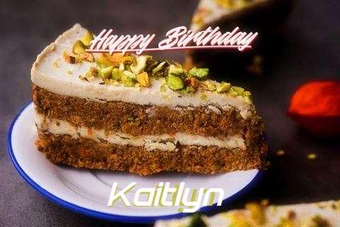 Happy Birthday Kaitlyn Cake Image
