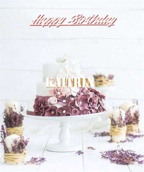 Happy Birthday to You Kaitrin