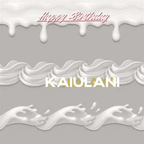 Happy Birthday to You Kaiulani