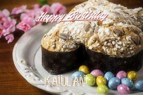 Happy Birthday Cake for Kaiulani