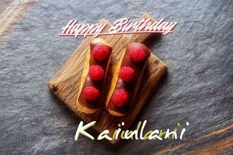 Kaiulani Cakes