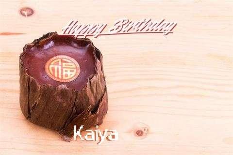Birthday Images for Kaiya
