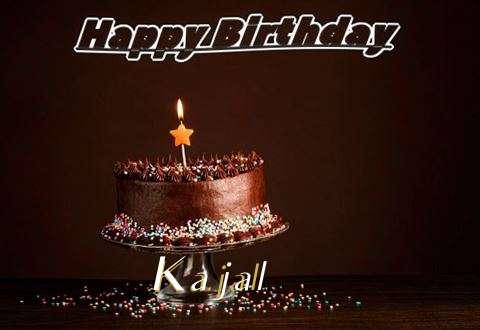 Happy Birthday Cake for Kajal
