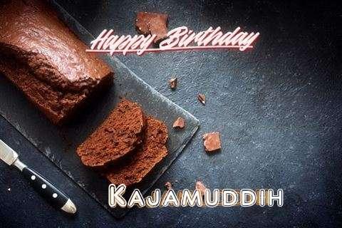 Happy Birthday Kajamuddih Cake Image