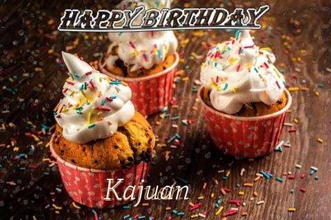 Happy Birthday Kajuan Cake Image