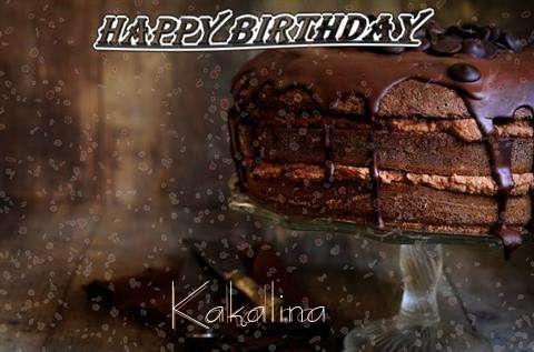 Happy Birthday Cake for Kakalina