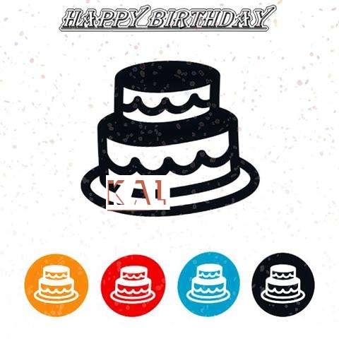 Happy Birthday Kal Cake Image