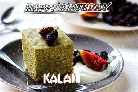 Happy Birthday Kalani Cake Image
