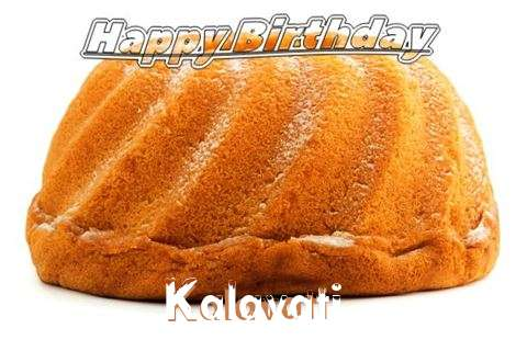 Happy Birthday Kalavati Cake Image
