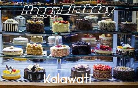 Happy Birthday Kalawati Cake Image