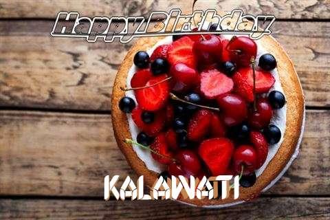 Happy Birthday Cake for Kalawati