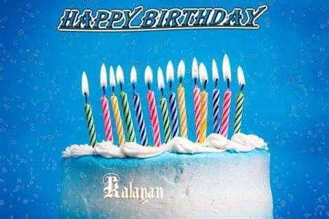 Happy Birthday Cake for Kalayan