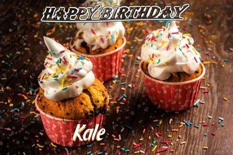 Happy Birthday Kale Cake Image