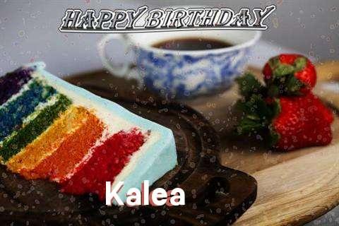 Happy Birthday Wishes for Kalea