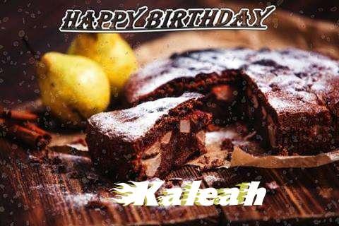 Happy Birthday to You Kaleah