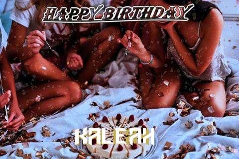 Happy Birthday Cake for Kaleah
