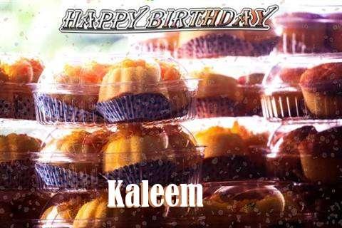 Happy Birthday Wishes for Kaleem
