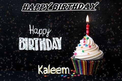 Happy Birthday to You Kaleem